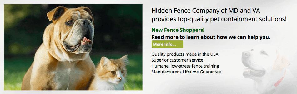 Hidden Fence of MD & VA - New Shoppers